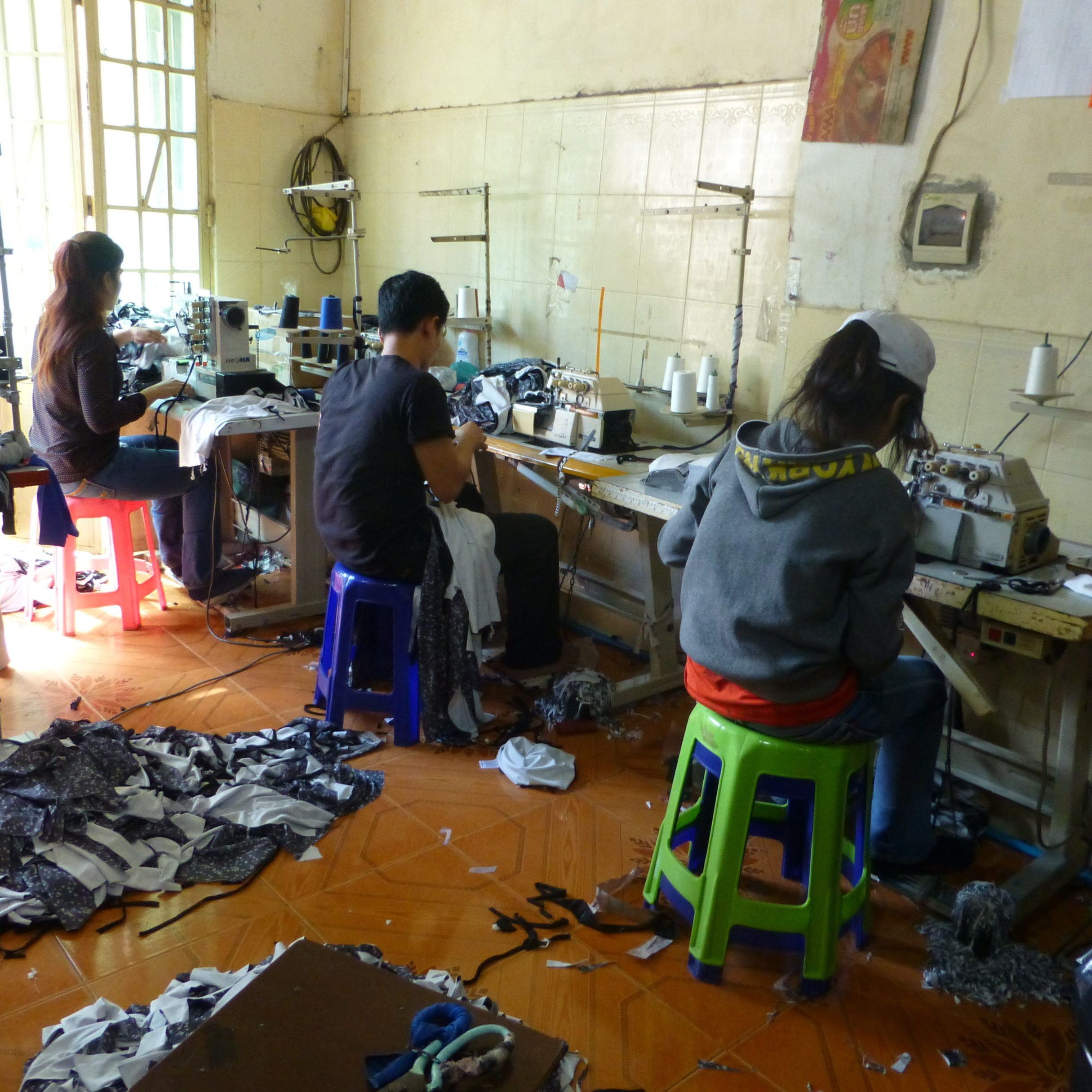 Home based factory Cambodia