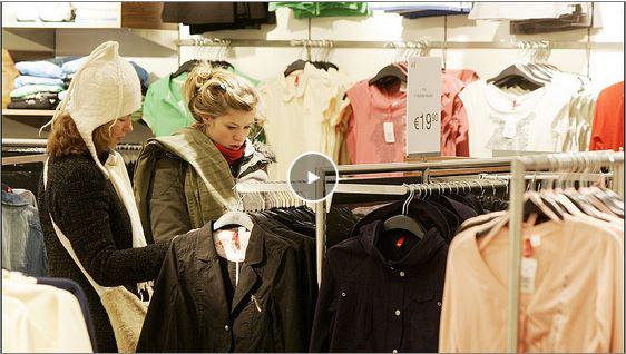 Een Vandaag word je kleding in een Chinese fabriek gemaakt